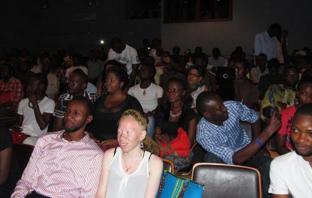 Peter Komondua et le Gba Gba au Centre WB, 27 janvier 2016