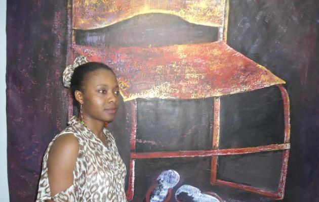 Vernissage à la halle de la Gombe