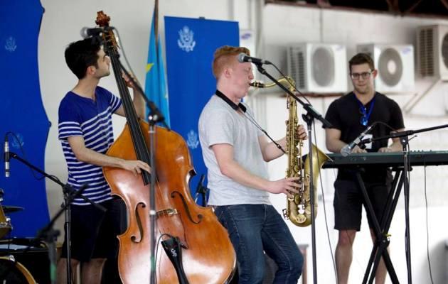 Concert jazz de Adam larson Quartet