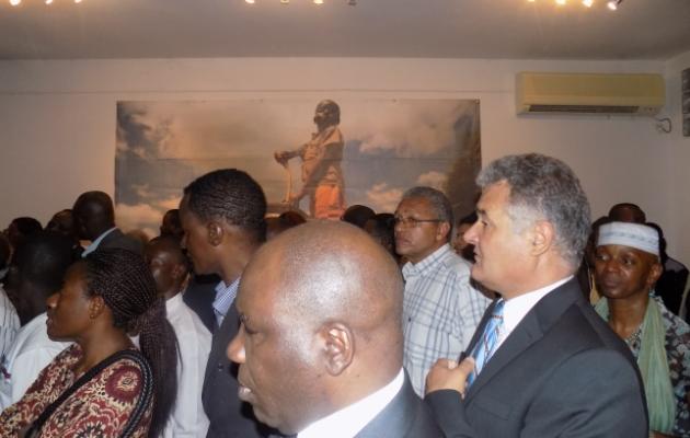 Exposition Monusco à la Halle de la Gombe