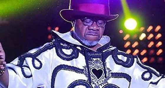 Papa Wemba sur scène de son dernier concert à Abidjan