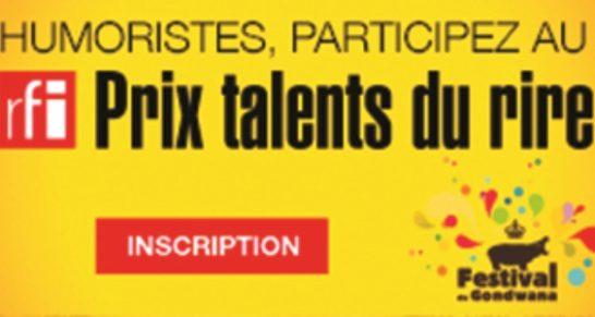 Appel à candidature: Rfi Prix Talents du Rire