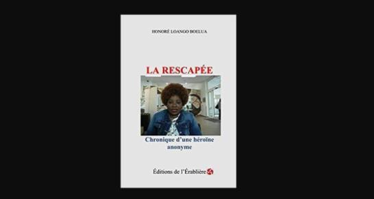 Publication du roman : LA RESCAPEE