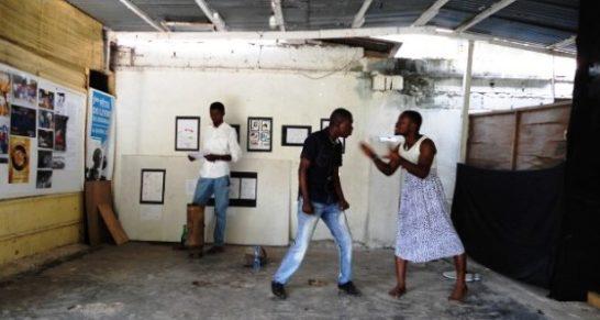 Serge Nosso en spectacle à l'Espace culturel « Awart » à Bandalungwa ce 28 avril 2019