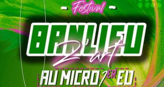 Le Festival Banlieuz'art au micro prévu pour le 07 septembre prochain à kinkole.