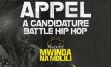 Appel à candidature Battle Hip Hop au compte du Festival Mwinda Na Molili 4.