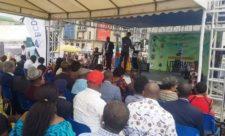 Le go de l'ouverture de la 4ème édition de la grande rentrée littéraire de Kinshasa à la place victoire.