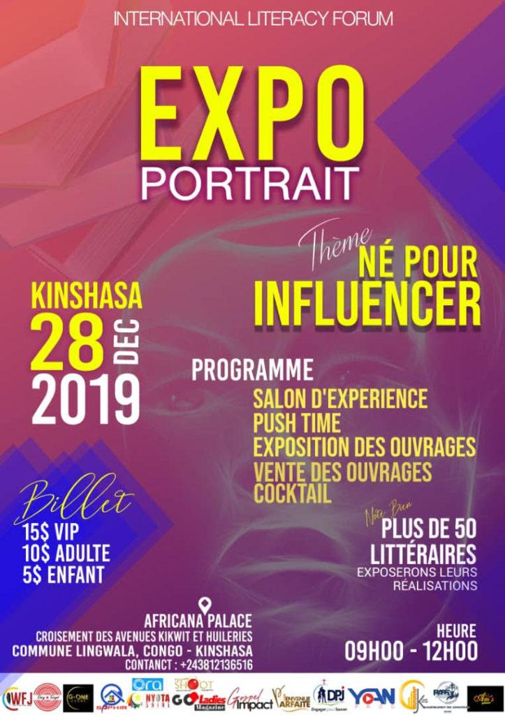 """La conférence """"Expo-portrait"""